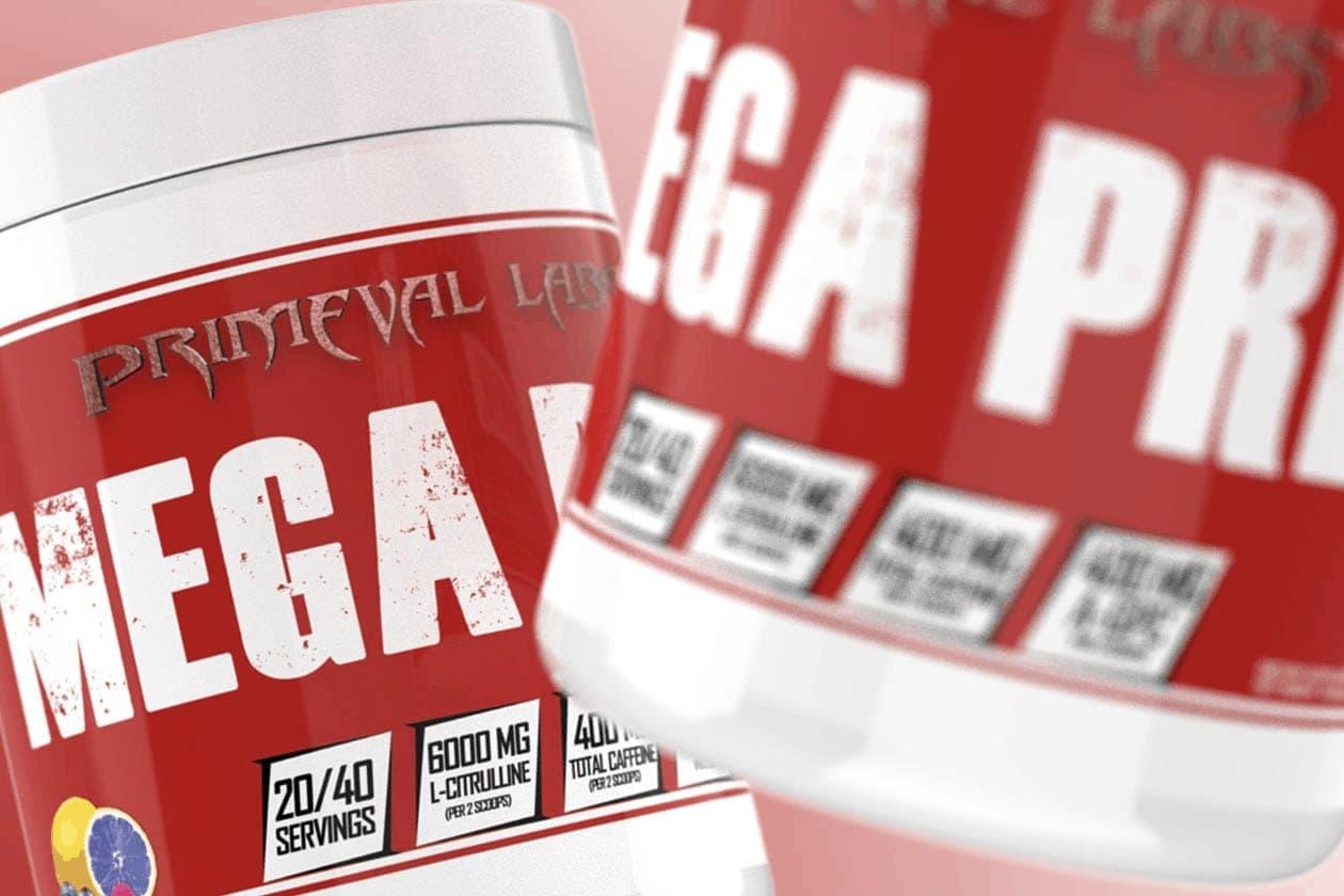 Primeval Labs - Mega Pre Red (40 lần dùng) - mega pre red 1