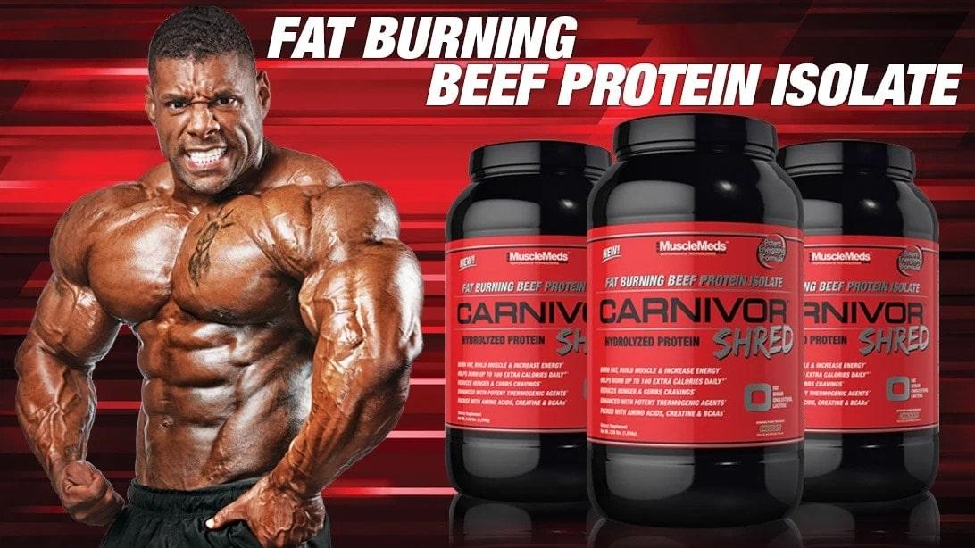 MuscleMeds - Carnivor Shred (2.28 Lbs) - mf supplement page june2