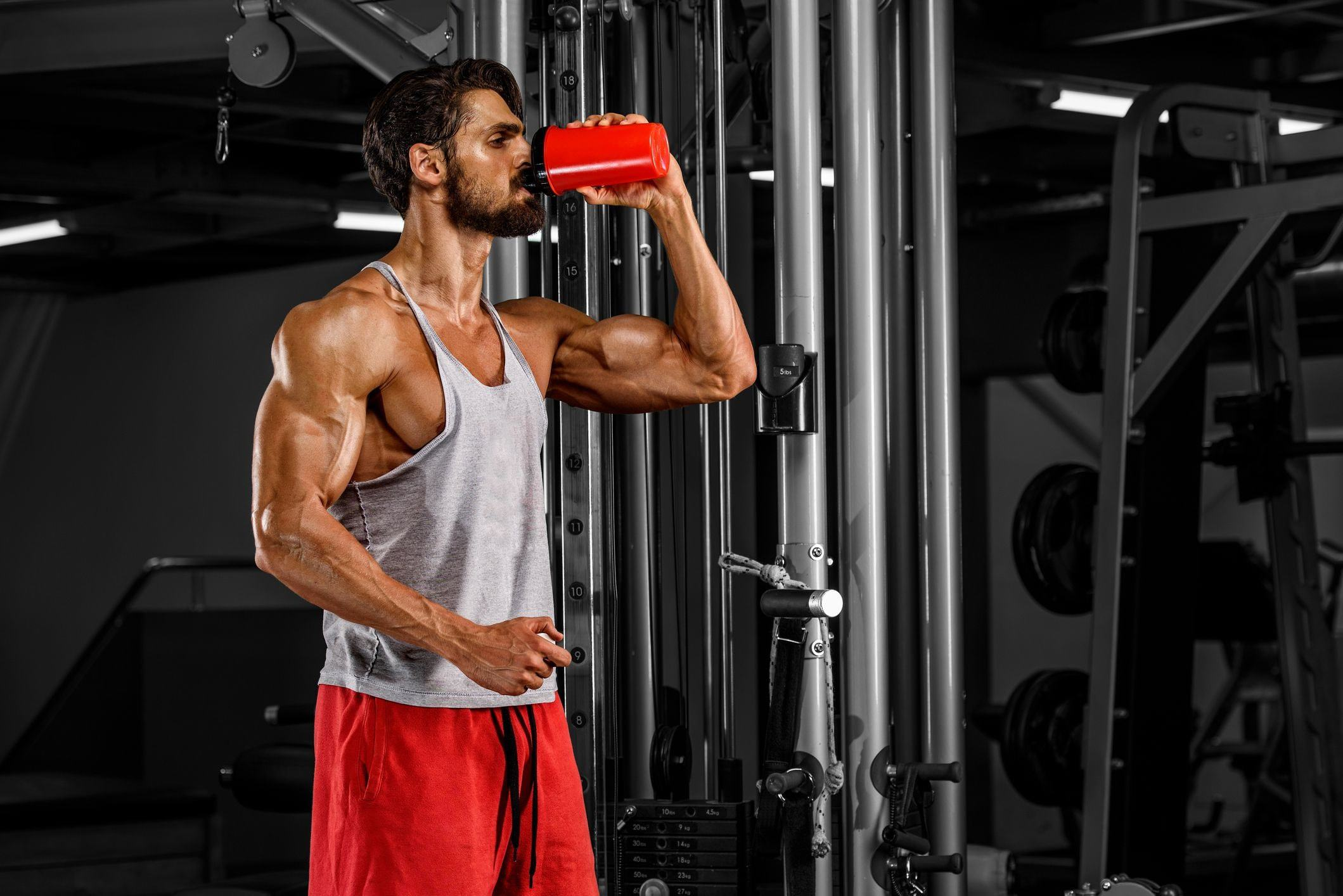 Catalyst - Recovery (30 lần dùng) - muscular men drink his nutrition