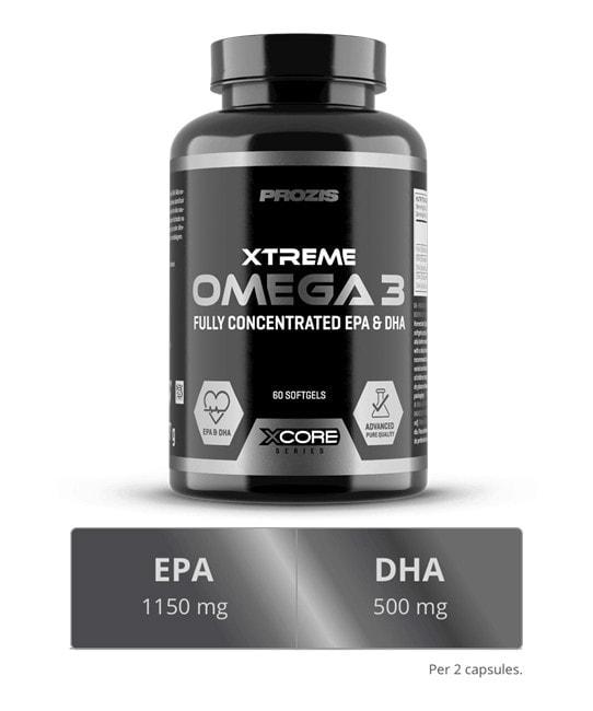 Prozis - Omega 3 Xtreme EPA SS (60 viên) - omega5