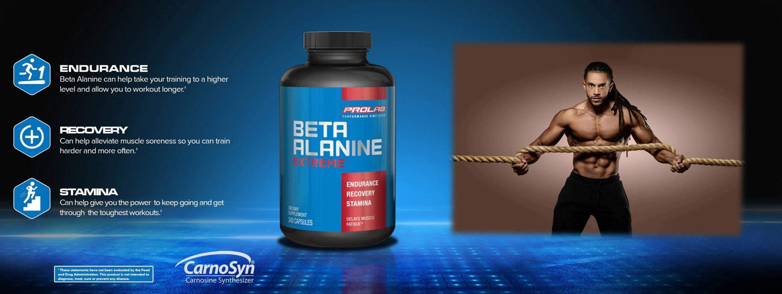Prolab - Beta Alanine Powder (192g) - pl web banner beta al scaled