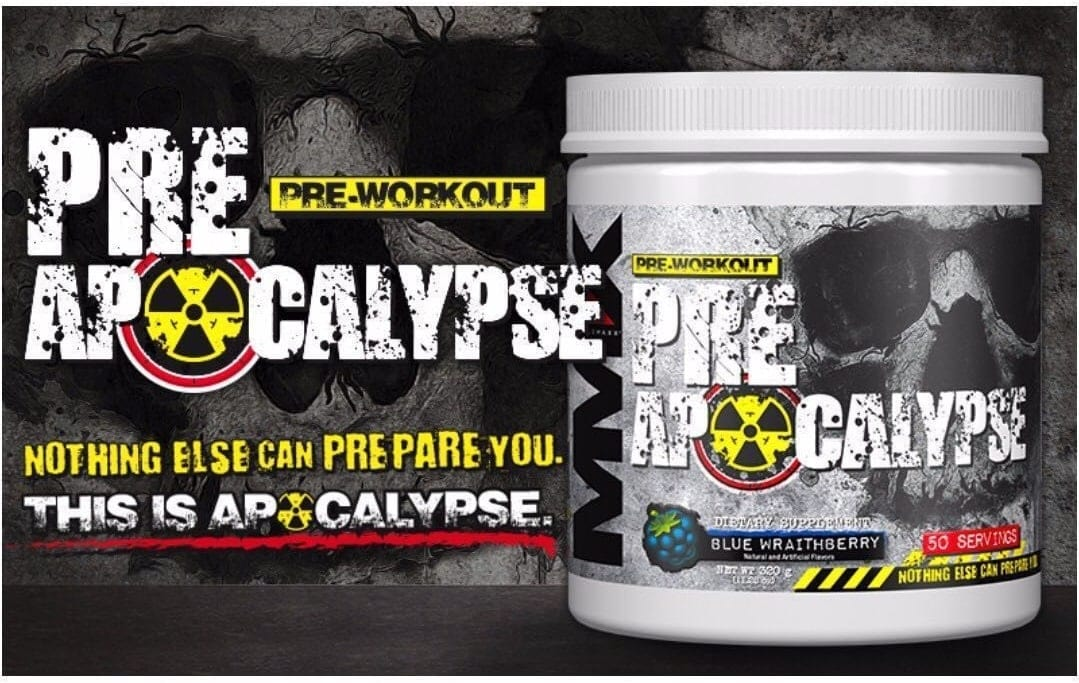 MuscleMaxx - PRE Apocalypse (50 lần dùng) - recommended musclemaxx mmx pre a