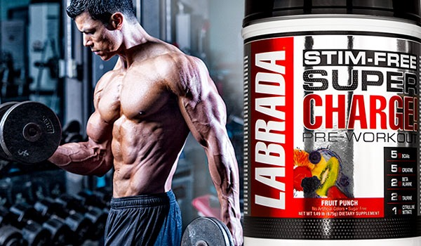 Labrada - Super Charge Stim-Free (Gói 5 lần dùng) - supercharge 1