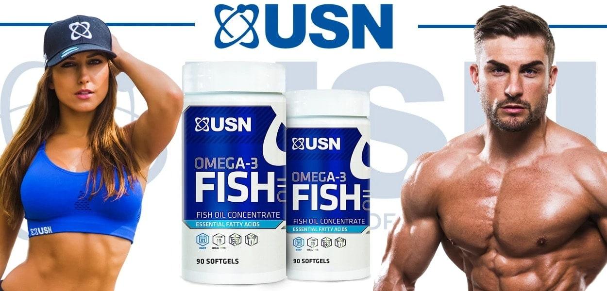 USN - Ultra-Premium Fish Oil (90 viên) - usn omega fish oil new banner he