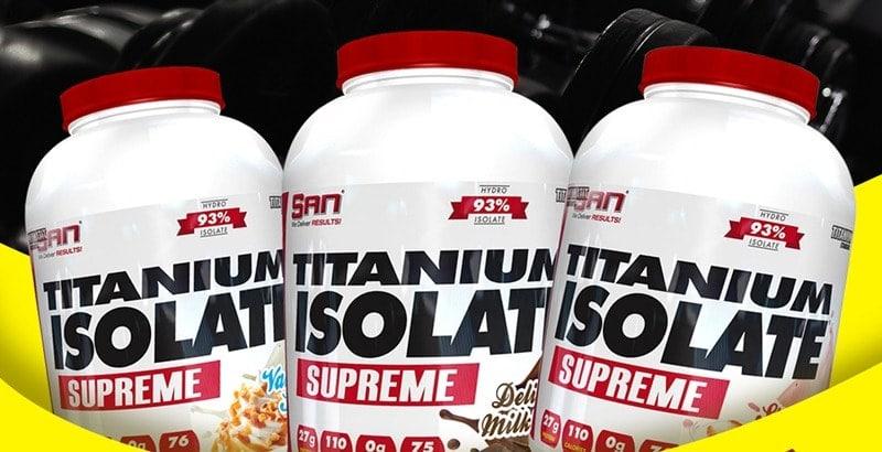 SAN - Titanium Isolate Supreme (5 Lbs) - wueu4u