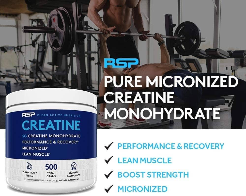 RSP - Creatine Monohydrate (300g) - 6134oxf0el ac sl1000