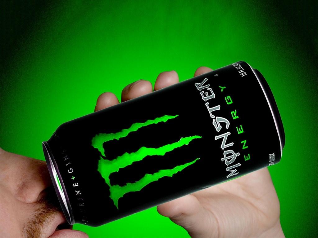 Nước tăng lực Monster - slide