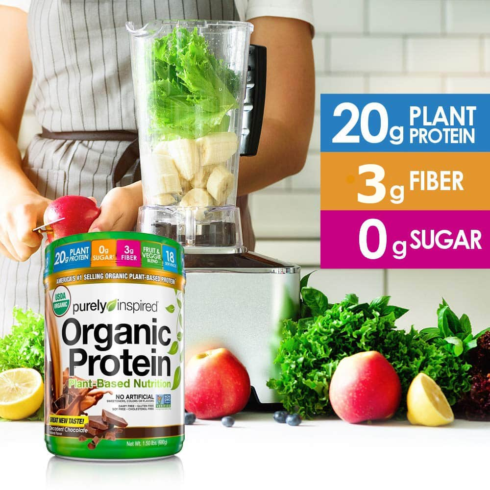 Purely Inspired - Organic Protein (1.5 Lbs) - 71vieybejal sl1000