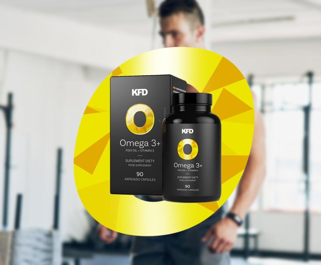 KFD - Omega 3+ (90 viên) - omega 390v mota