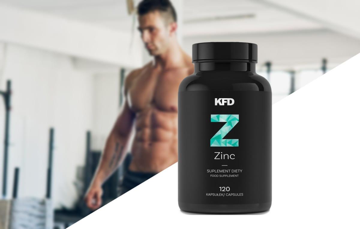 KFD - Zinc (120 viên) - poza figura muscle myshtsy muscl mota