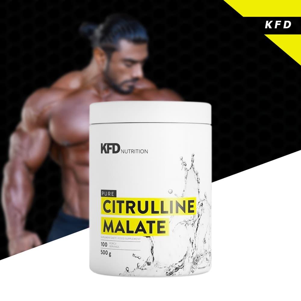 KFD - Pure Citrulline Malate (500g) - training crossfit sportzal treni 1
