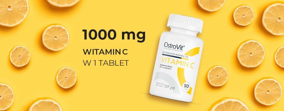 OstroVit - Vitamin C (90 viên) - vit c 1