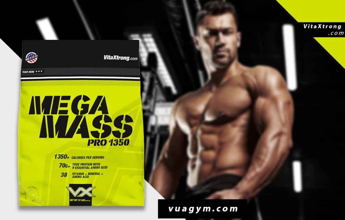 VitaXtrong - Mega Mass Pro 1350 (12 Lbs) - vitaxtrong mega mass pro 1350 12 lbs