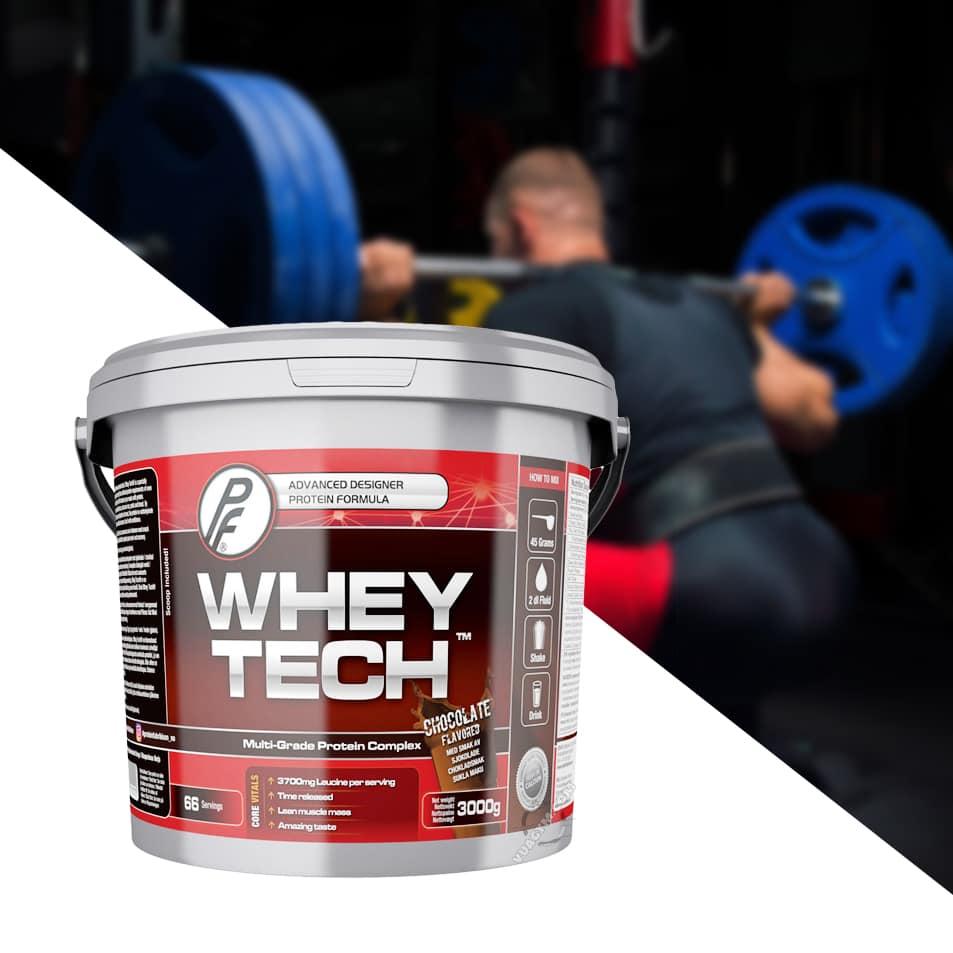 Proteinfabrikken - Whey Tech (3KG) - whey tech 3000g chocolate mota