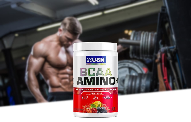 USN - BCAA Amino+ (30 lần dùng) - bcaa amino mota