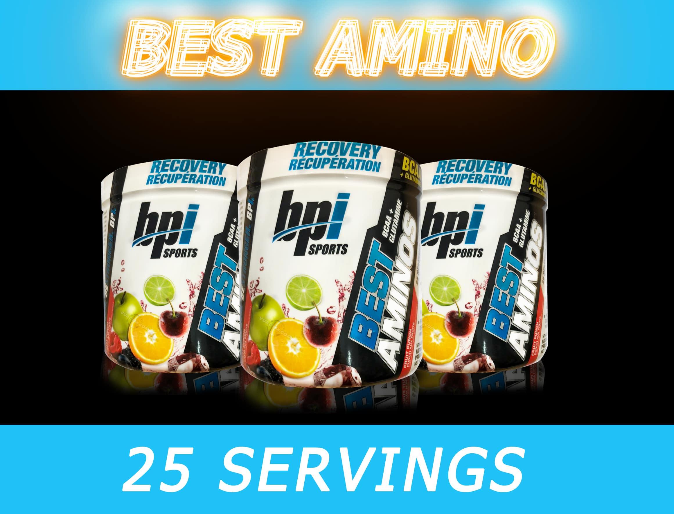 BPI Sports - Best Aminos (25 lần dùng) - best amino 25sv mota