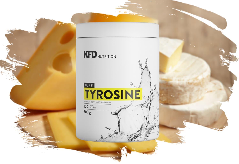 KFD - Pure Tyrosine (300g) - l tyrosine mota