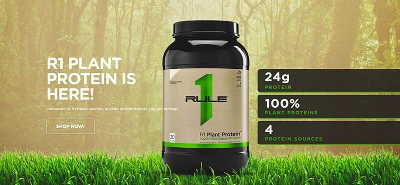 Rule 1 - R1 Plant Protein (20 lần dùng) - r1plant banner