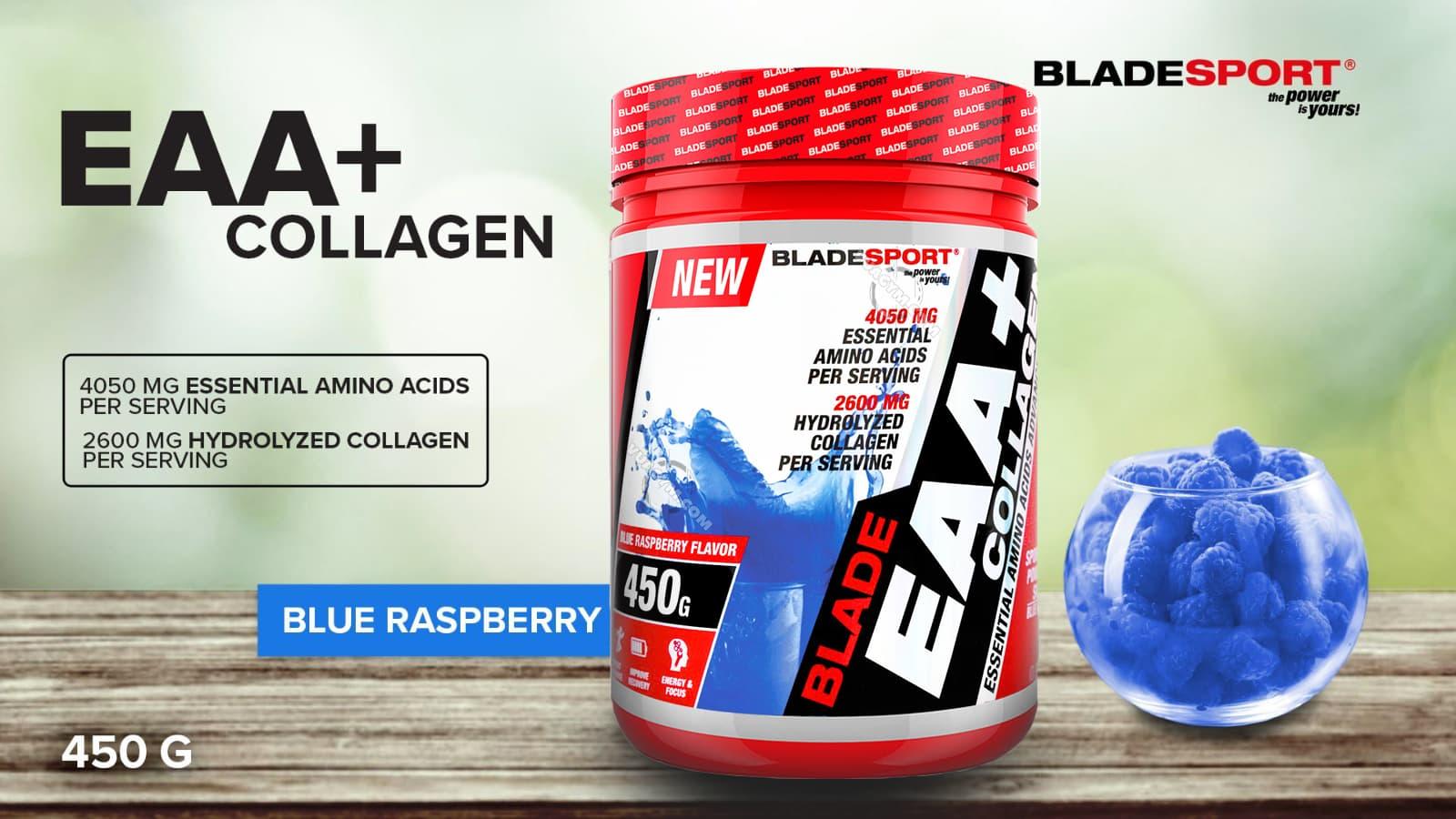 Blade Sport - Blade EAA + Collagen (450g) - 159064557 3950620371627311 46424