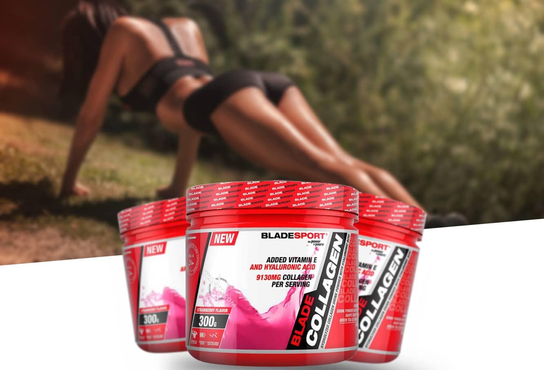 Blade Sport - Blade Collagen + Hyaluronic Acid (300g) - blade collagen