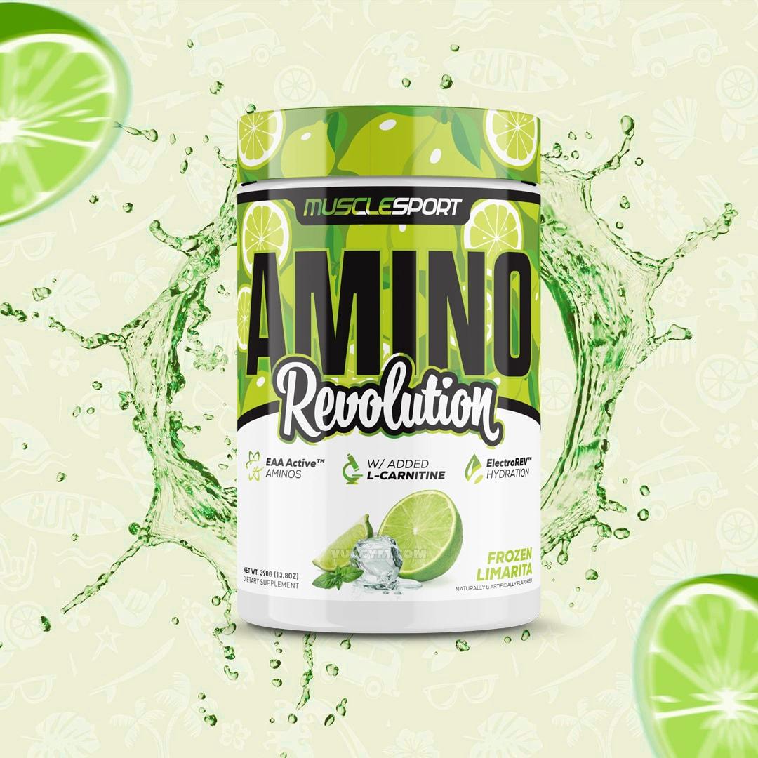 MuscleSport - Amino Revolution (30 lần dùng) - amino revolution 1