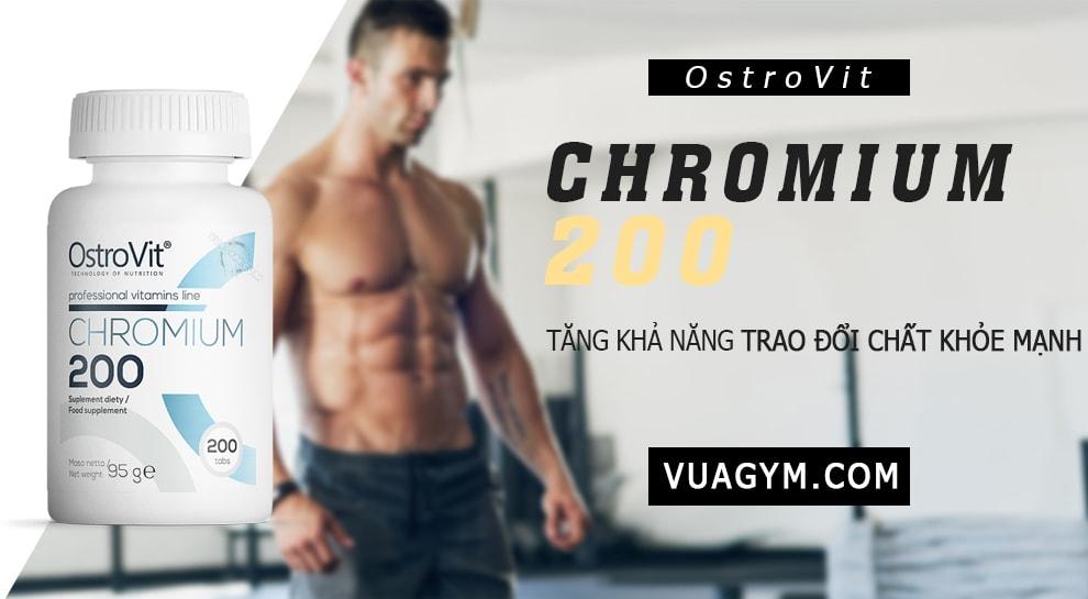 OstroVit - Chromium 200 (200 viên) - chrom 200mg 200v mota 1jpg