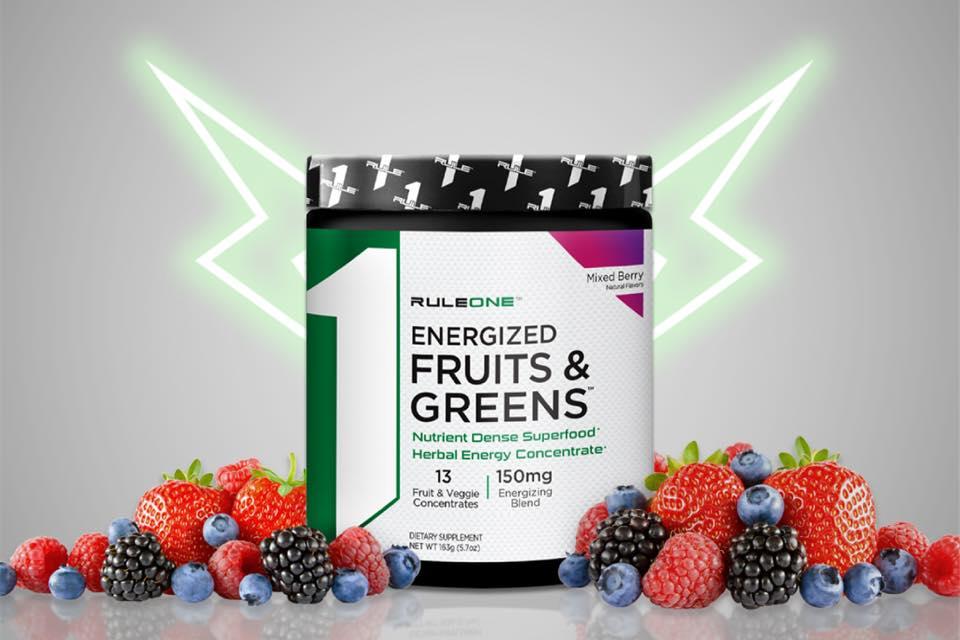 Rule 1 - R1 Energized Fruits & Greens (25 lần dùng) - 82048700 2997045100327183 5496711755444781056 n