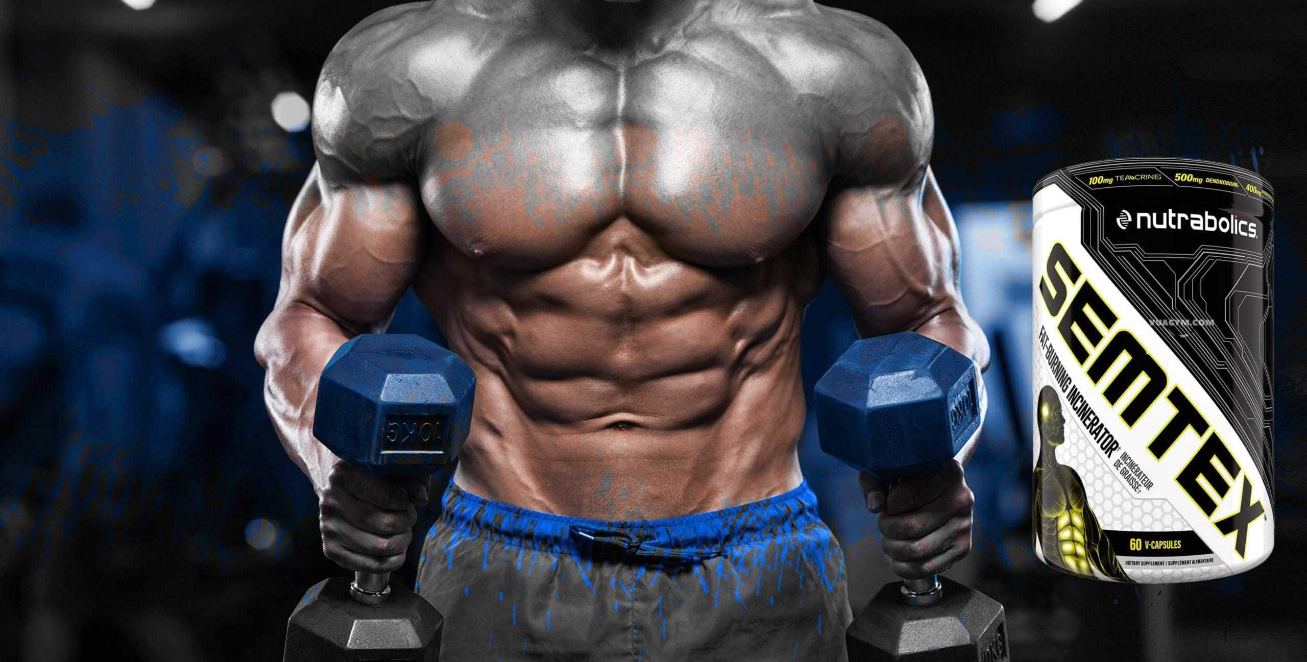 Nutrabolics - SEMTEX (60 viên) - bodybuilding men hands muscle du scaled