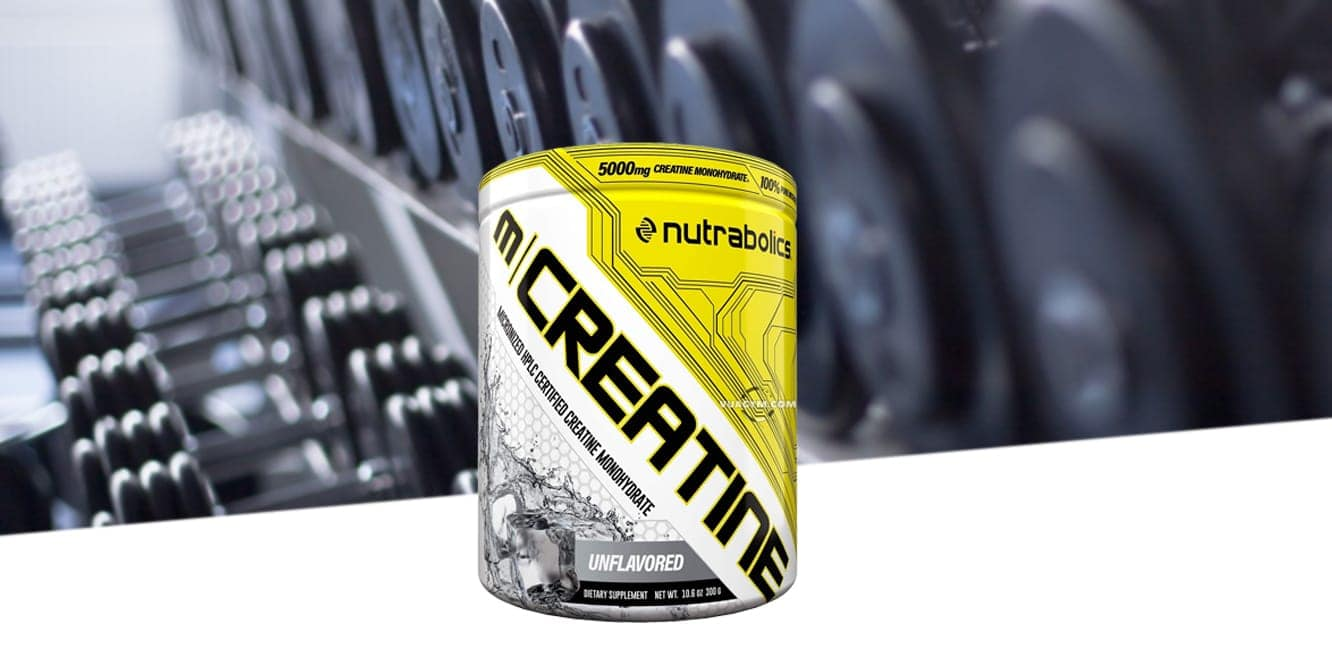 Nutrabolics - M | Creatine (300g) - dumbbells different weights